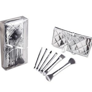 7 pc Dual ended brush set with case